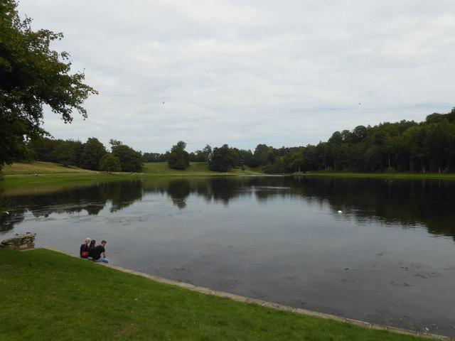 The Lake at Studley Royal Water Garden