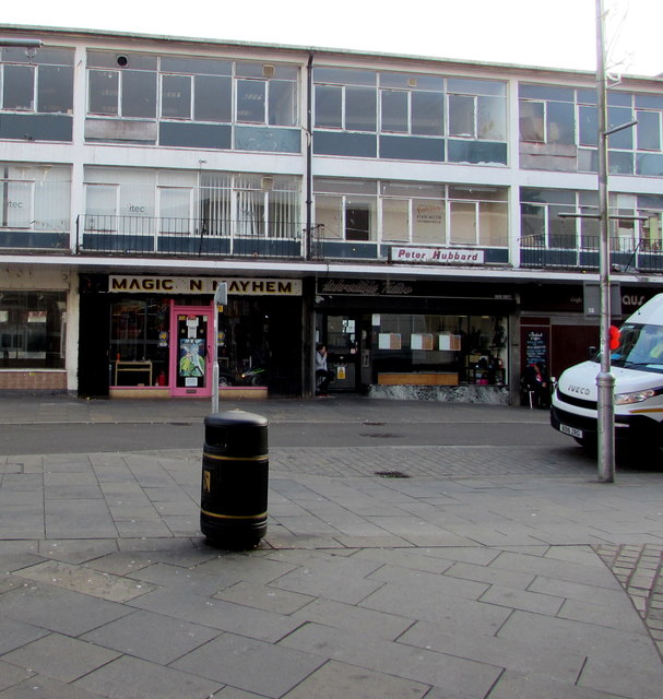 Market Street businesses, Bridgend