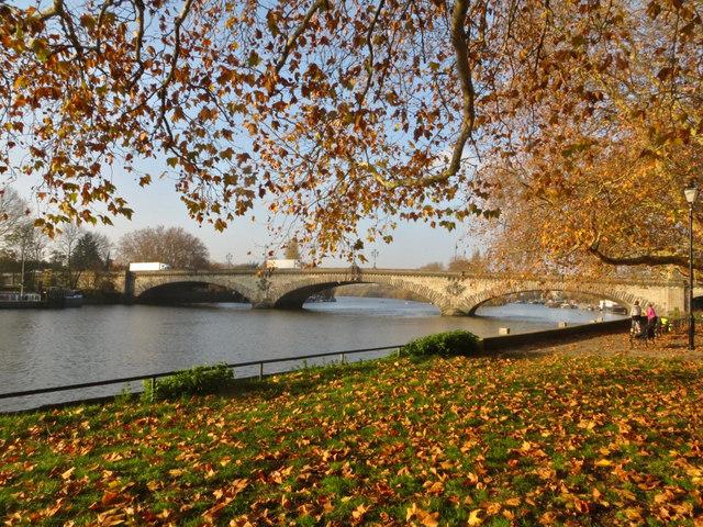 The Thames and Kew Bridge