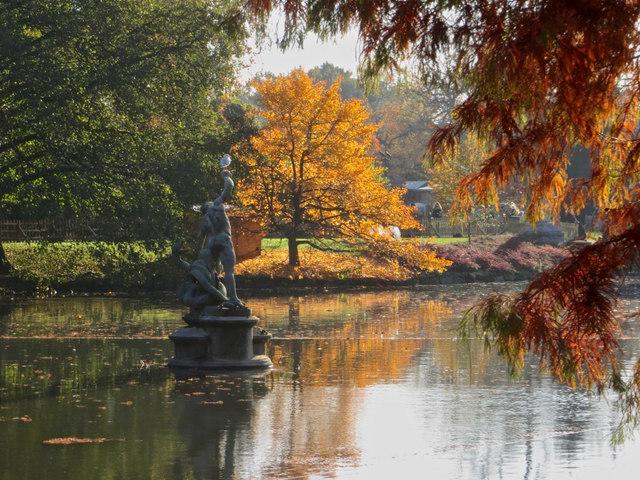 The Pond, Royal Botanical Gardens, Kew