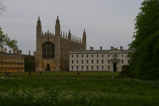 The Backs, Cambridge: King's College and its Chapel