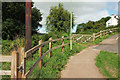 SX8760 : Gates, Highfield Crescent, Paignton by Derek Harper