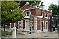 TQ3877 : Royal Naval College - Gate Lodge by N Chadwick