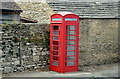 ST8676 : Derelict Phone Box, The Street, Yatton Keynell, Wiltshire 2016 by Ray Bird