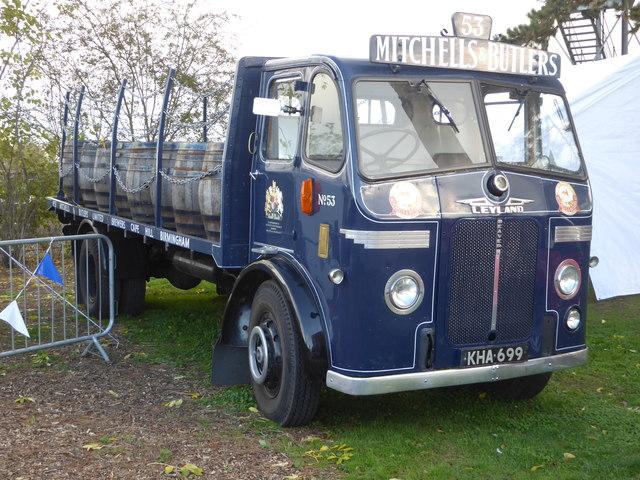 Leyland dray wagon - Claymills Victorian Pumping Station