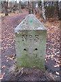 SJ2485 : Thurstaston Recreation Ground Boundary Stone #5 by John S Turner