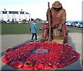 NZ4349 : Tommy the Day After Remembrance Sunday by Les Hull
