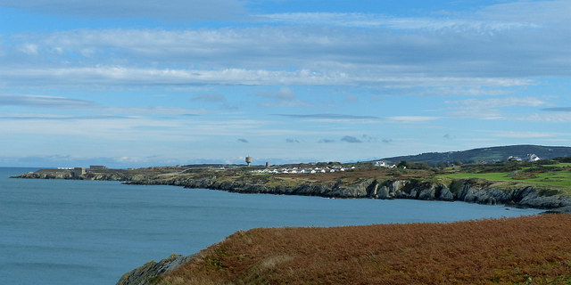 Looking to the south-east over Bull Bay, Anglesey