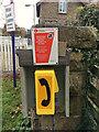 SD5095 : Burneside level crossing phone by Hugh Craddock