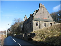 NS8814 : The former Leadhills church by David Purchase