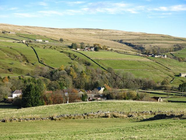 Upper Weadale around Wearhead (2a)