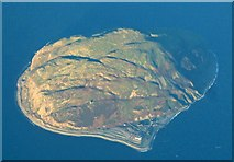 NX0299 : Ailsa Craig from the air by Thomas Nugent