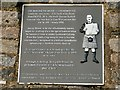 NT3496 : Plaque on the Jimmy Shand Memorial by Graham Hogg