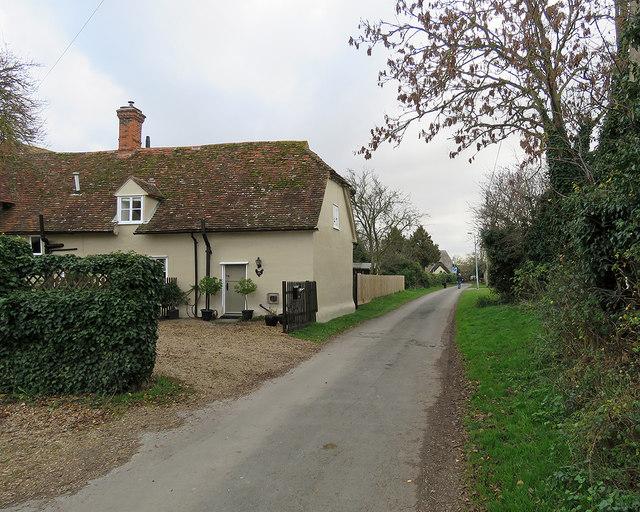 Litlington: on Malting Lane