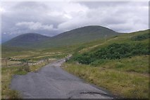NH1355 : Old alignment, A890 by Richard Webb