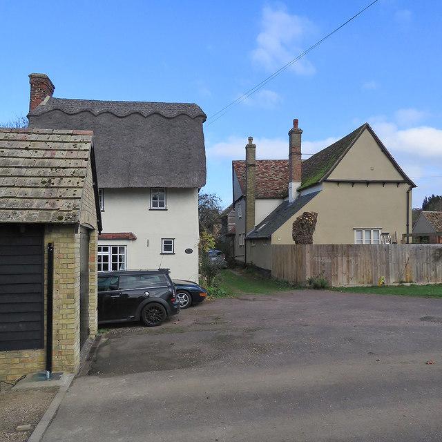 Litlington: on Silver Street