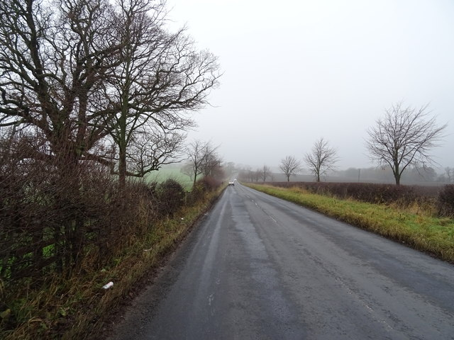 Country road towards Farnley