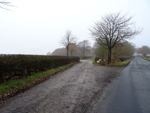 Track to East Lodge, Farnley Hall