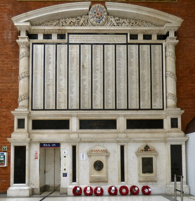 The Great Eastern Railway War Memorial