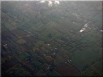 N9867 : Farmland near Rathdrinagh from the air by Thomas Nugent