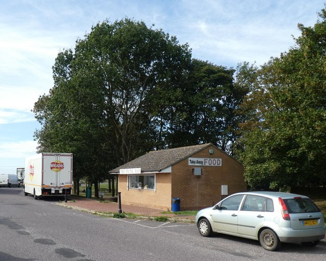 The Picnic Bar in a lay-by beside A17