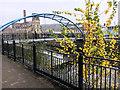 SK3587 : Pedestrian bridge over the River Don by Graham Hogg