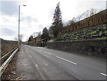 SS9389 : South along Cemetery Road, Ogmore Vale by Jaggery