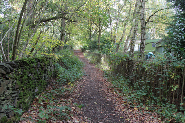 Path to Swithland Wood Farm and  Roecliffe Road