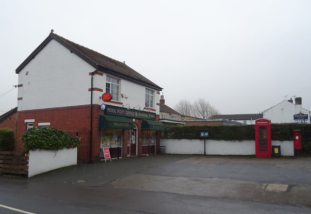 Post Office and General Store, Main Street, Pool in Wharfedale