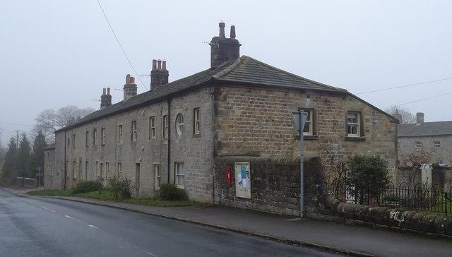 Houses on the B6451, Farnley