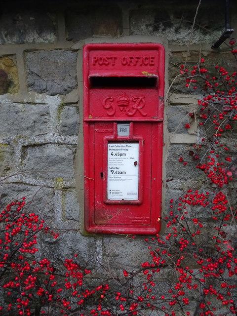 George VI postbox, Lindley Green