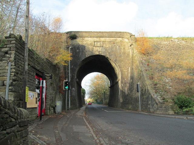 Canal aqueduct at Bollington