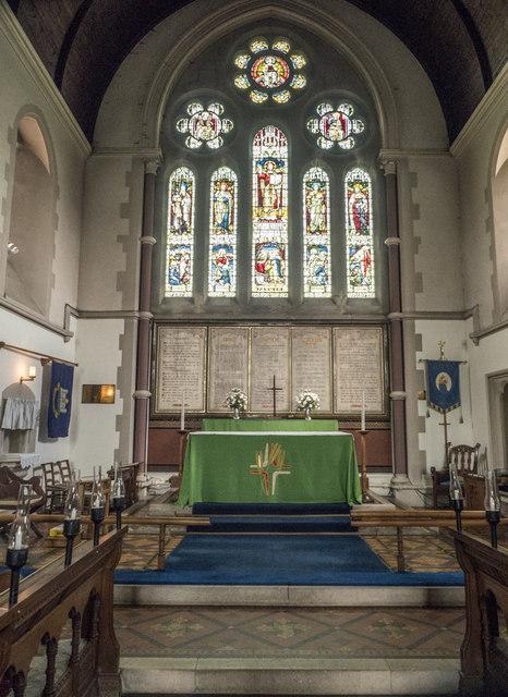 St Peter, March - Chancel