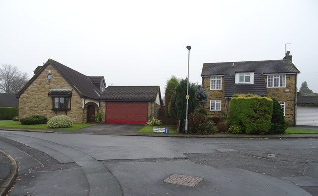 Houses on Stonedale Close, Pool in Wharfedale