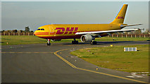 O1342 : DHL cargo aircraft at Dublin Airport by Thomas Nugent