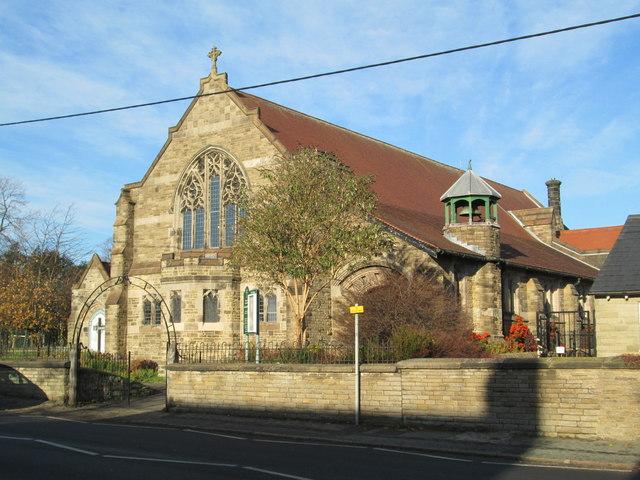 St Oswald's Church, Bollington Cross