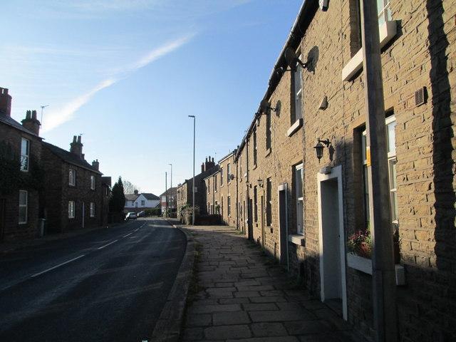 Houses on Bollington Road