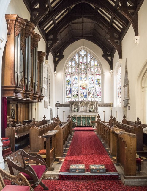 St George, Littleport - Chancel