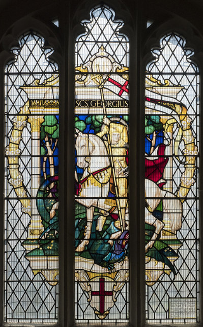 St George, Littleport - Stained glass window
