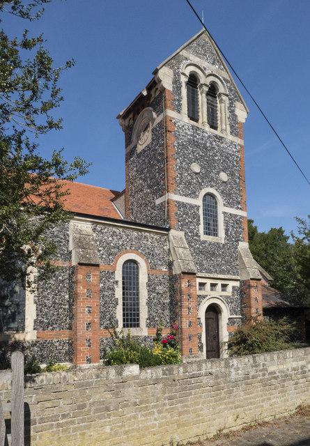 Holy Cross, Stuntney - Tower