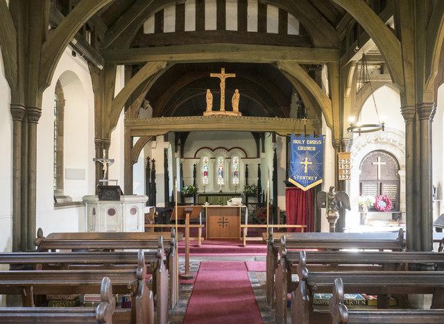 Holy Cross, Stuntney - East end
