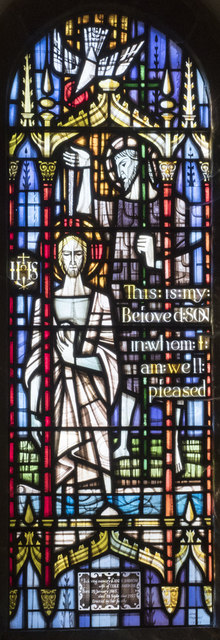 Holy Cross, Stuntney - Stained glass window