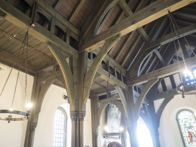 Holy Cross, Stuntney - Roof