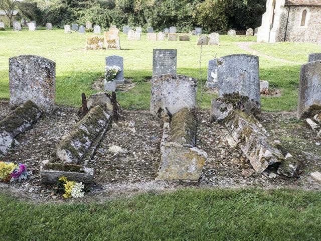 St Mary, Denham - Churchyard