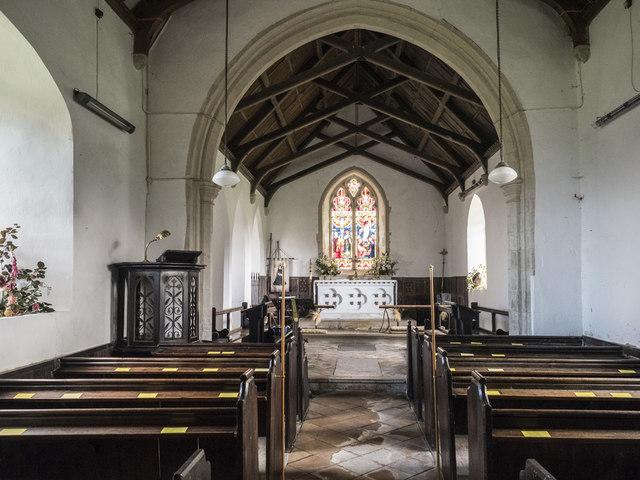St Mary, Denham - East end