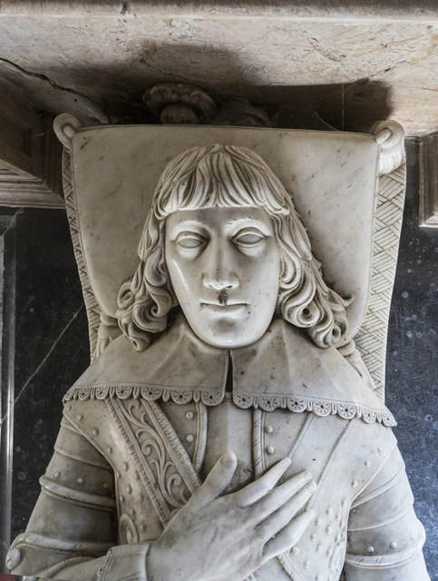 St Mary, Denham - Monument detail