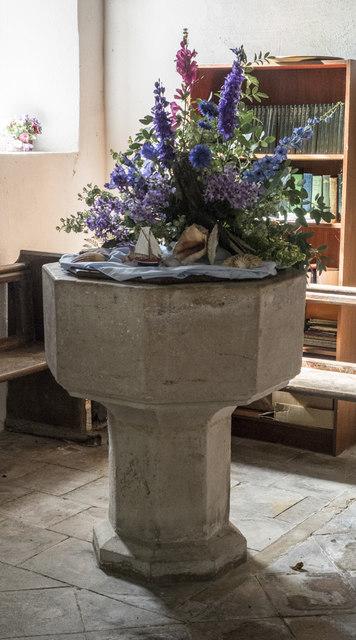 St Mary, Denham - Font
