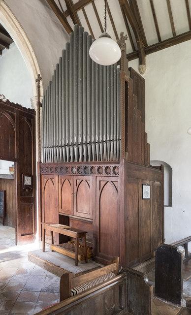 St Mary, Denham - Organ