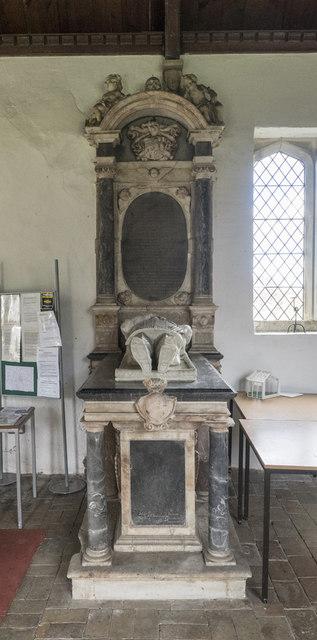 St Mary, Denham - Monument