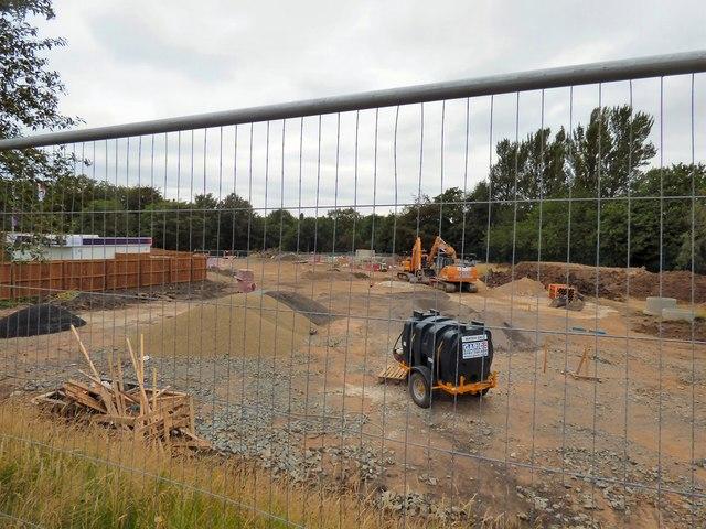 Building work at Clarendon Woods